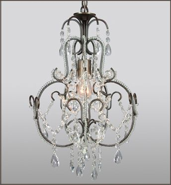 Beaded Chandelier - Crystal Chic Collection by Got Light