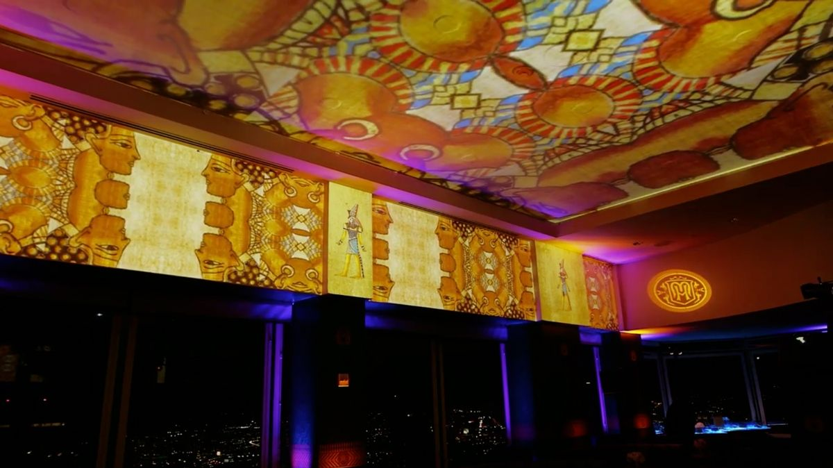 Top of the Mark's 75th Anniversary Party | Video Projection Mapping by Got Light